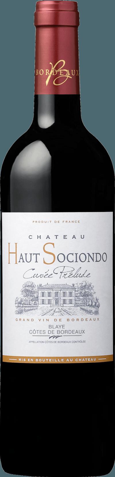 Château Haut Sociondo – Cuvée Prélude