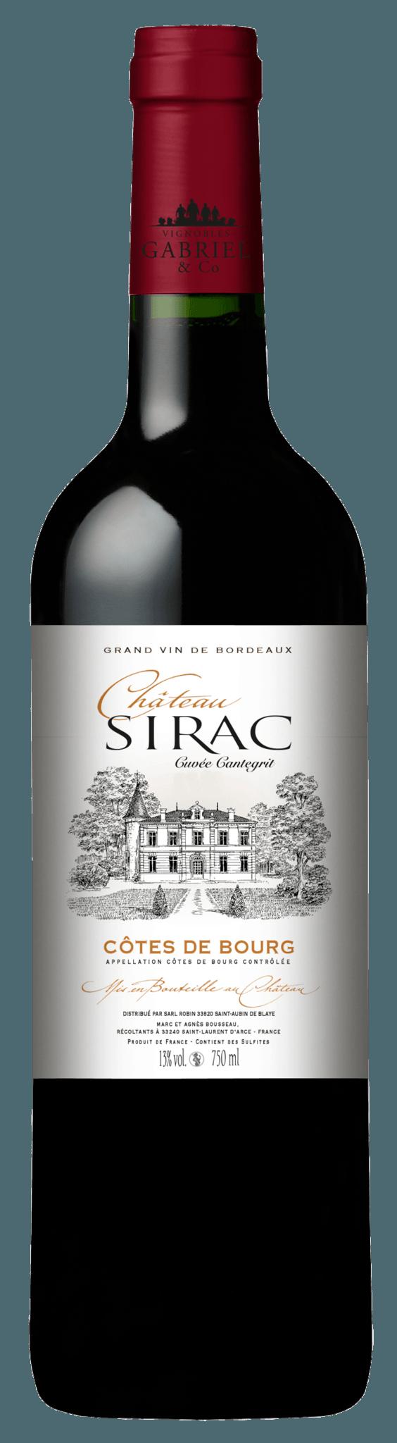 Château Sirac Cuvée Cantegrit
